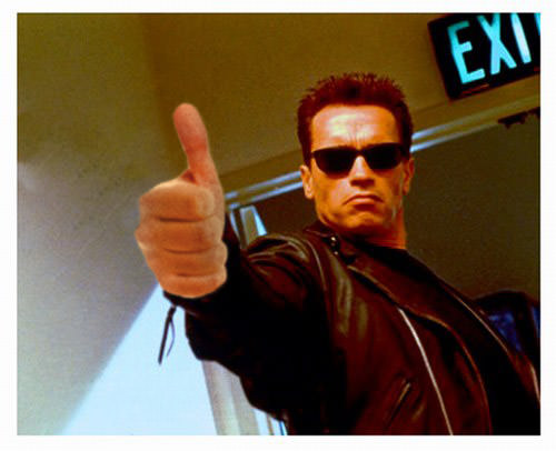 Thumb up terminator pablo M R