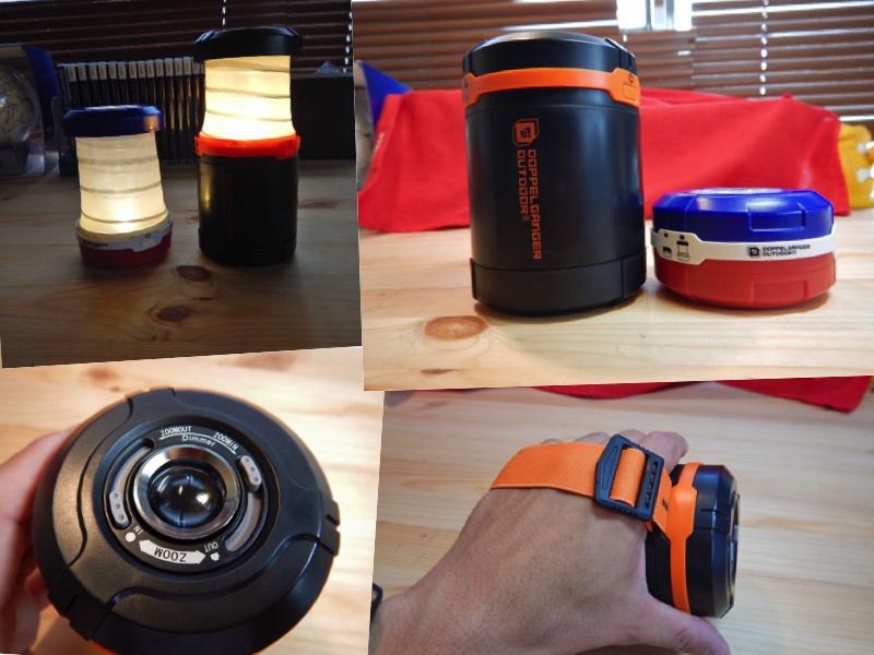 どっちでも使える!「2WAY LEDランタン」は夏とキャンプの必需品。