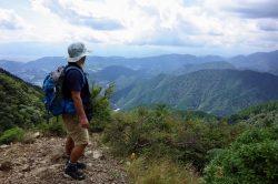 <2017.9.13>眺望も山道も気持ちいい塔ノ岳。ヤビツ峠から三ノ塔・烏尾山荘で引き返し。