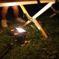 アウトドアの間接照明に。大光量LEDランタン〈リチャージライト〉の威力。